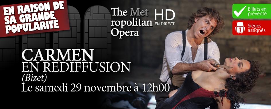 Les Opéras du Met: Encore – Carmen