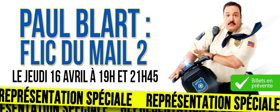 Représentation Spéciale: Paul Blart: Flic du mail 2