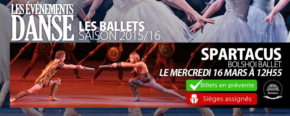 Ballets 9: Spartacus