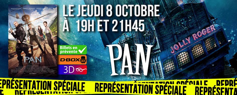 Représentation spéciale: Pan