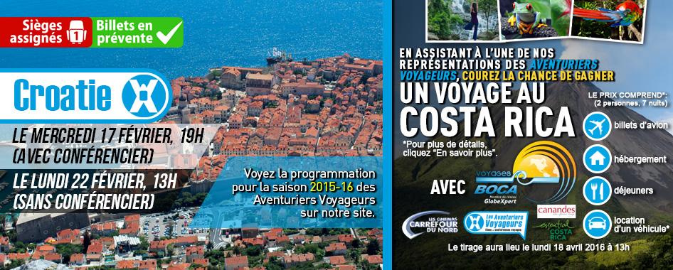 Les Aventuriers Voyageurs: Croatie