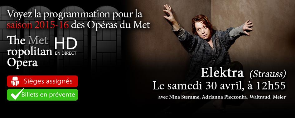 Les Opéras du Met : Elektra