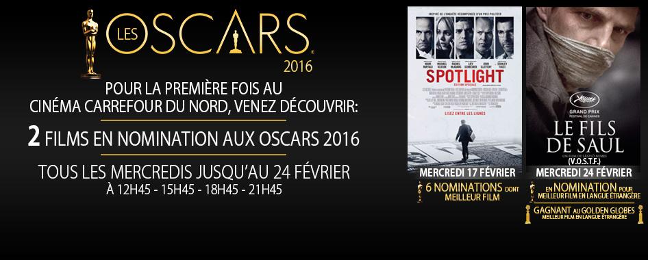 Les Oscars 2016 – 10 février