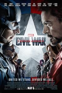 Capitaine America: La guerre civile 2D et 3D