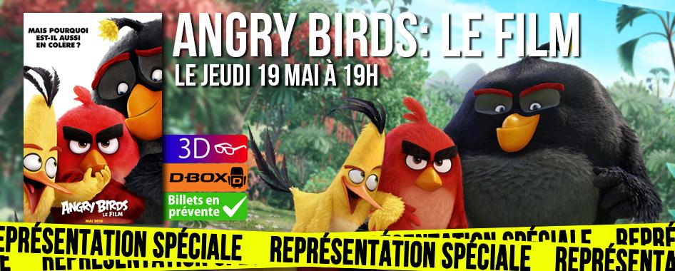 Représentation spéciale: AngryBirds: le film