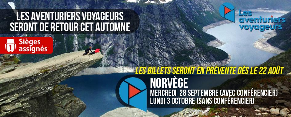 Aventuriers voyageurs: Norvège – de retour
