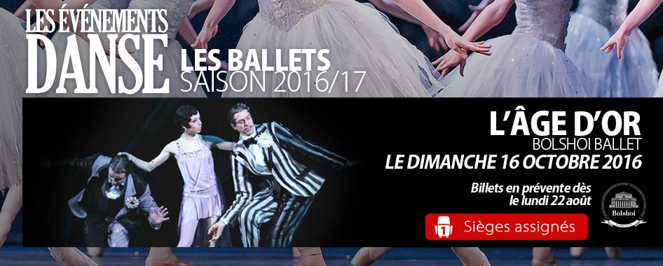 Ballets – Age d'or – de retour