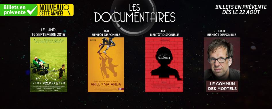 Documentaire – être et devenir