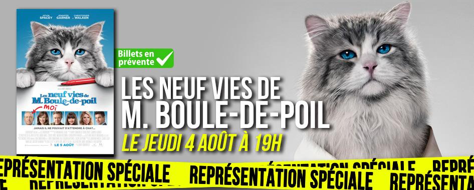 Représentation spéciale: M. Boule-de-poil