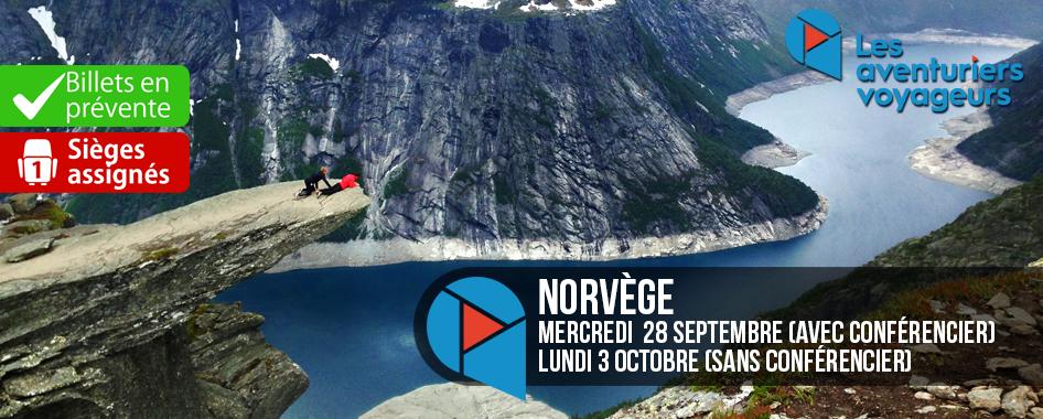 Aventuriers voyageurs: Norvège