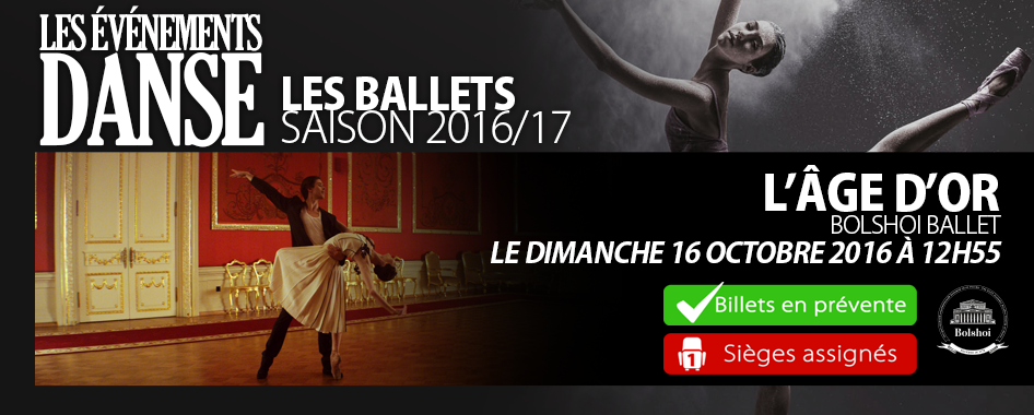 Ballets – Age d'or