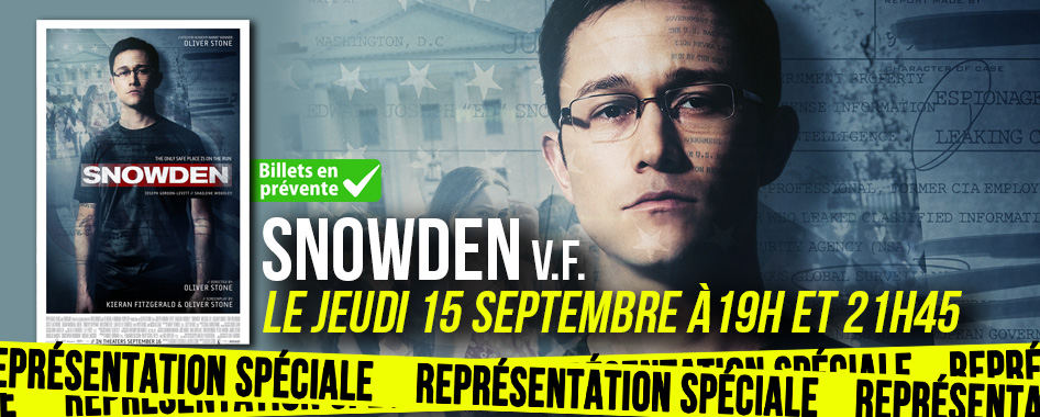 Représentation spéciale: Snowden
