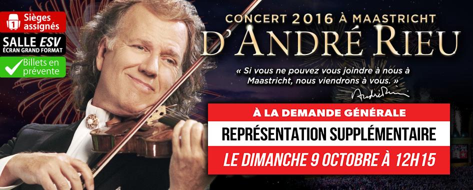 Andre Rieu 2016 – 11 septembre