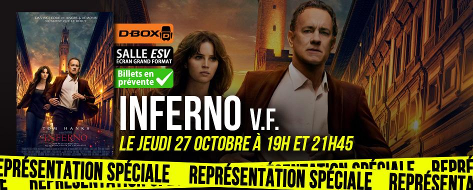 Représentation spéciale: Inferno