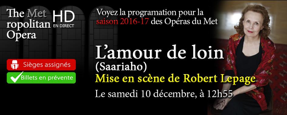 Les Opéras du Met : L'amour de loin