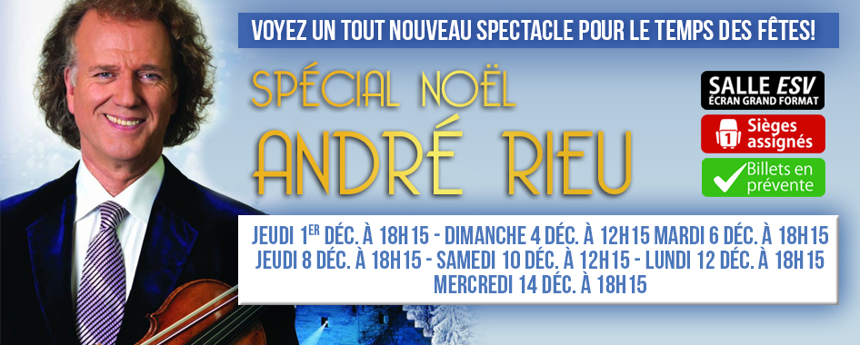 André Rieu: Spécial Noël 2016