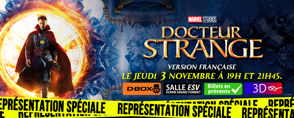 Représentation Spéciale : Dr. Strange