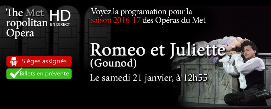 Les Opéras du Met : Roméo et Juliette
