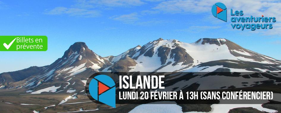 Aventuriers Voyageurs: Islande sans
