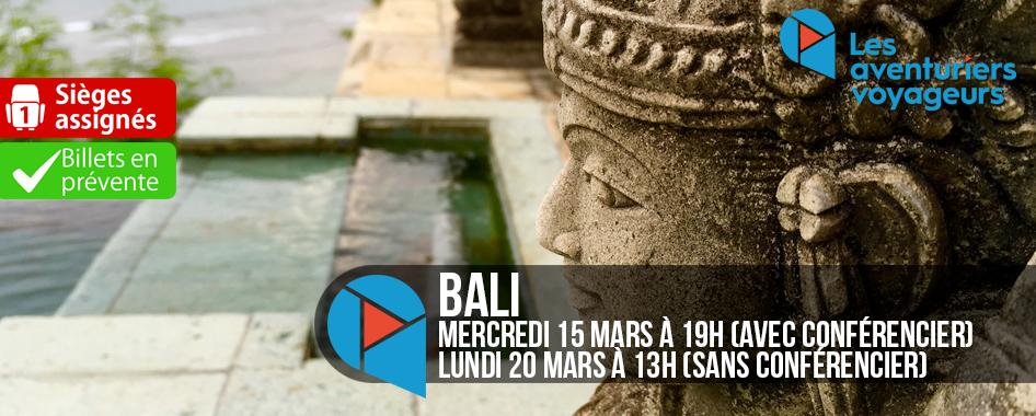 Aventuriers Voyageurs: Bali avec