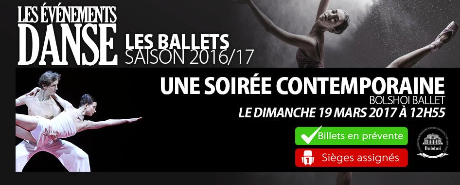 Ballet: une soirée contemporaine