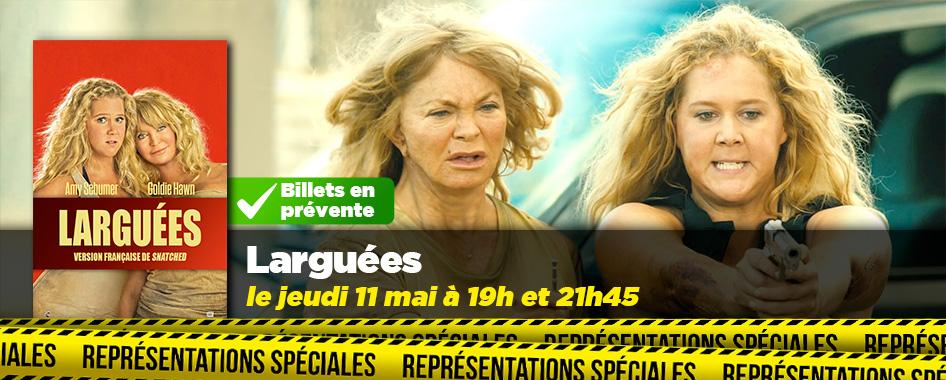 Représentation spéciale: larguées