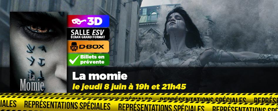 Représentation spéciale : La momie