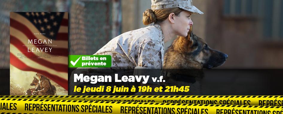 Représentation spéciale : Megan Leavy v.f.