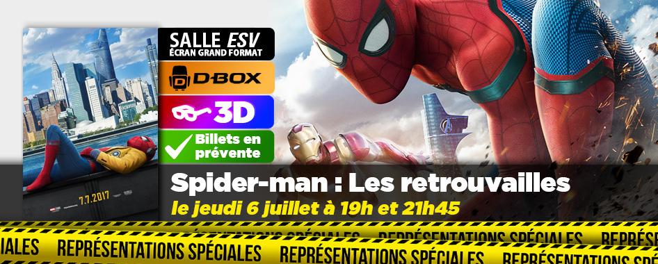 Représentation spéciale : Spider-man