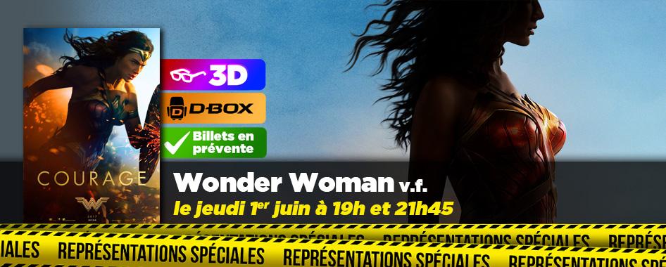 Représentation spéciale: wonder woman