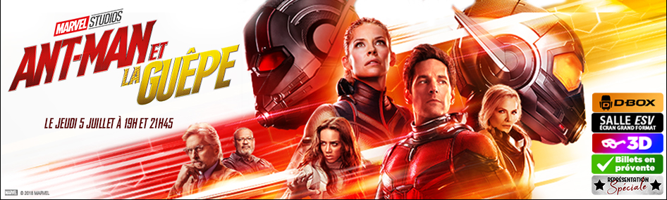 47 – Représentation spéciale – Ant-Man et La Guêpe