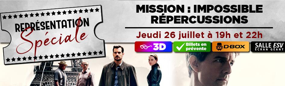 44 – Représentation spéciale – Mission impossible 6