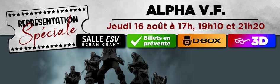 44 – Représentation spéciale – Alpha