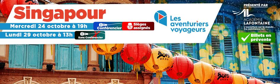 10 – Aventuriers Voyageurs – Singapour AVEC