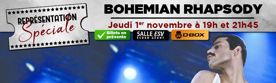 30 – Représentation spéciale – Bohemian Rhapsody