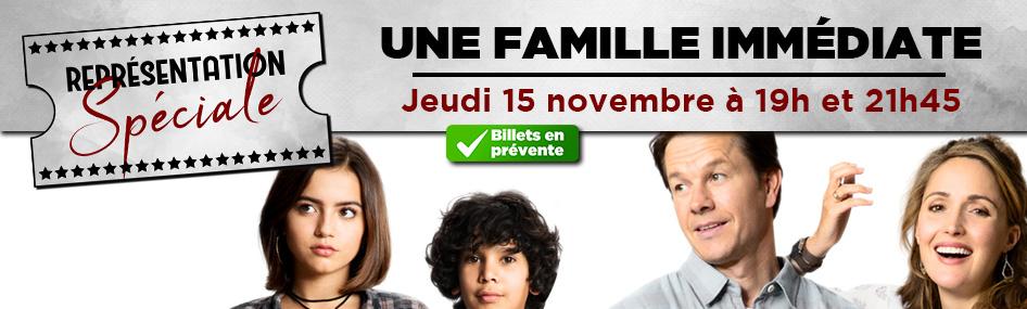 28 – Représentation spéciale – Une famille immédiate