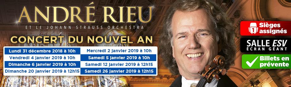 100 – André Rieu Nouvel an 2019