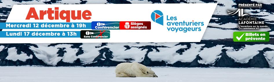 7 – Aventuriers voyageurs – Artique AVEC