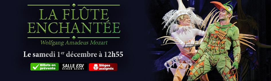 100 – Les opéras du met – La flûte enchantée