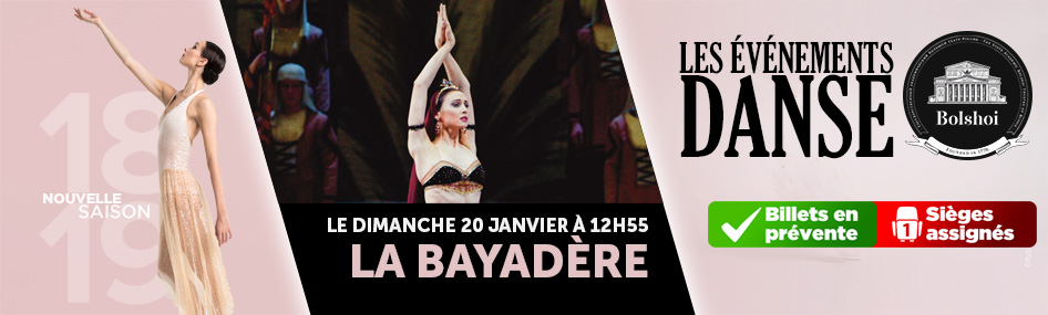 6 – Ballet – la bayadere