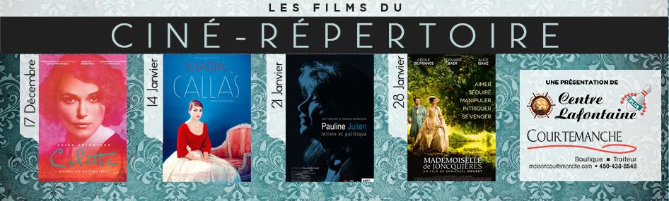 5 – Ciné-répertoire