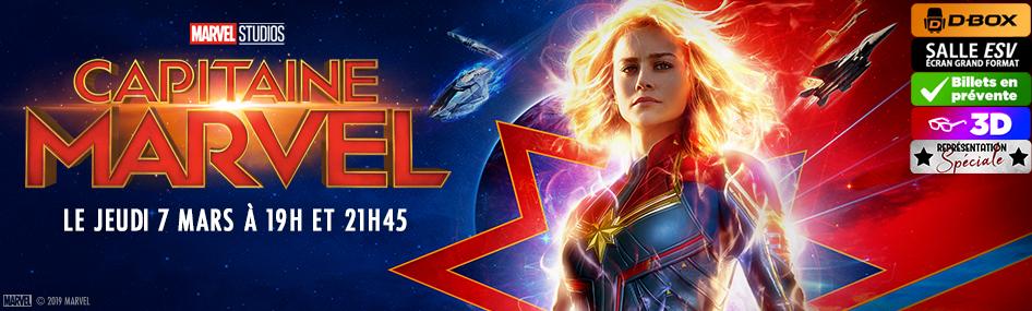 18 – Représentation spéciale – Capitaine Marvel