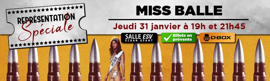 21 – Représentation spéciale – Miss Balle