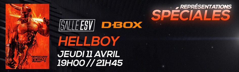 1 – Représentation spéciale – Hellboy