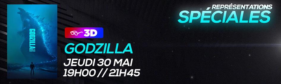 12 – Représentation spéciale – Godzilla